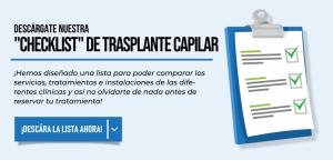 Lista del trasplante capilar